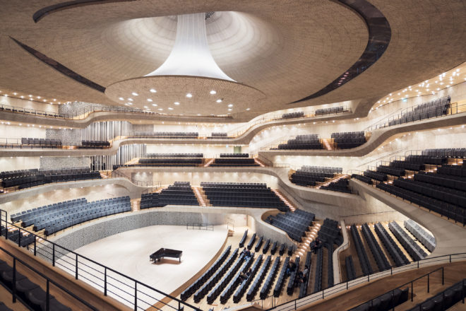 What Happens When Algorithms Design a Concert Hall? The Stunning Elbphilharmonie