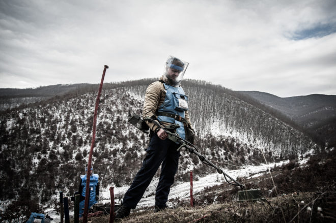 The Hunt for the Hidden Bombs and Land Mines of Kosovo