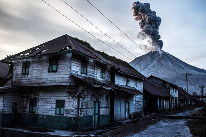Visit a Ghost Village at the Foot of an Angry Indonesian Volcano