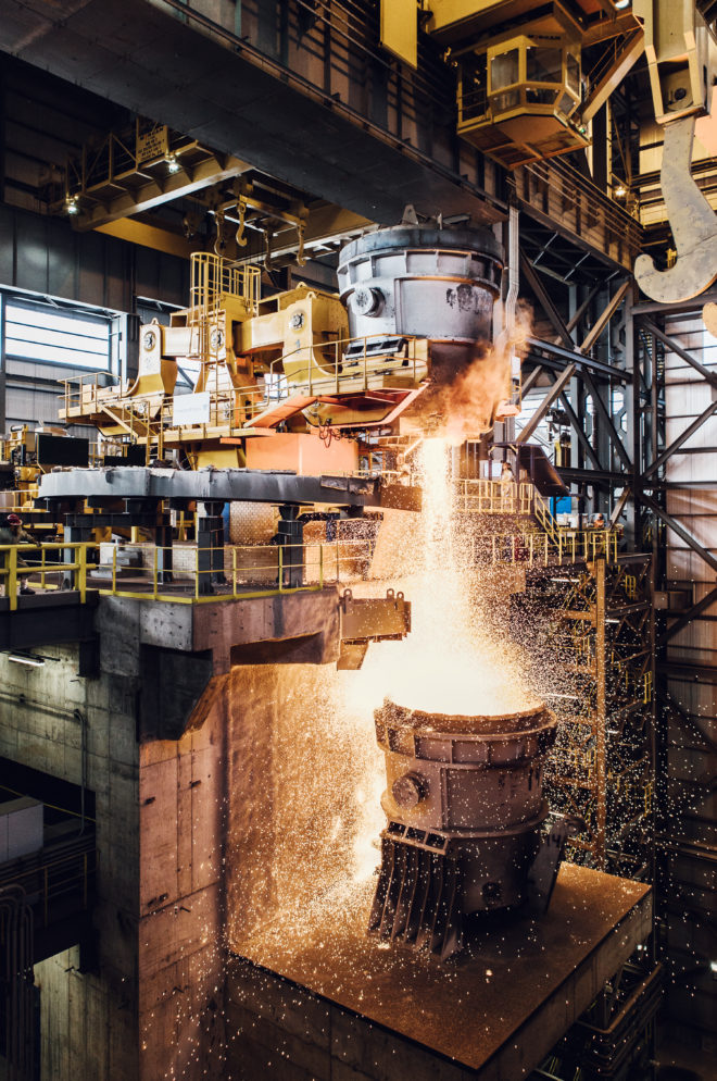 Enter the 9,000-Degree Hell That Melts 2 Million Tons of Steel a Year