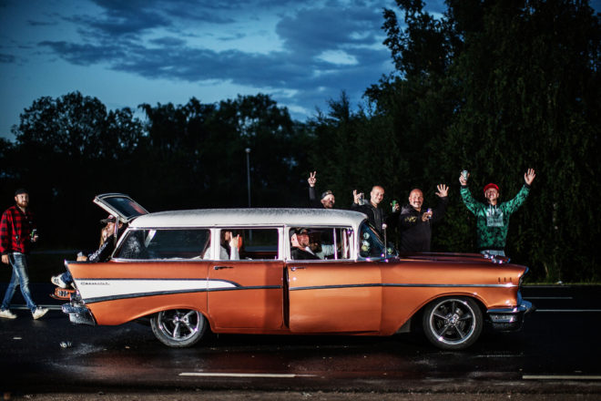 24K Classic American Cars Hit the Streets … of Sweden