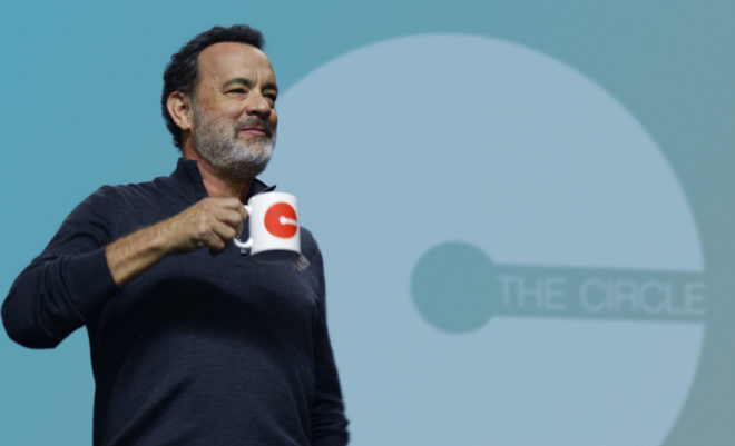 Tom Hanks and Jack Dorsey Tumble Into The Circle's Endless Irony