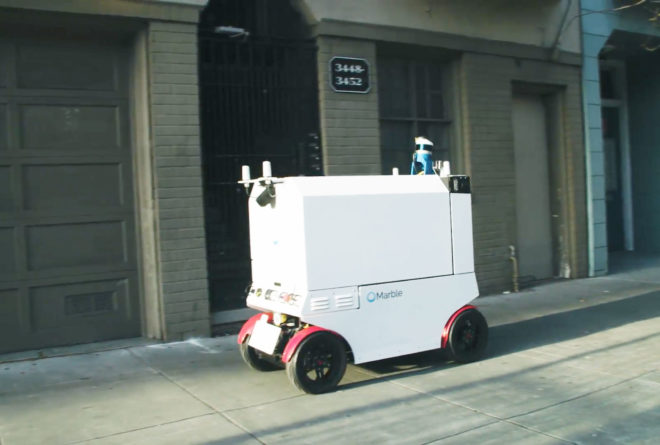San Francisco Tries to Ban Delivery Robots Before They Flatten Someone's Toes